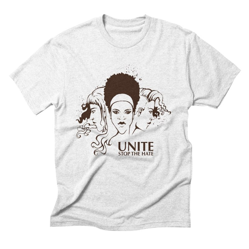 Unite Men's Triblend T-shirt by harbingerdesigns's Artist Shop