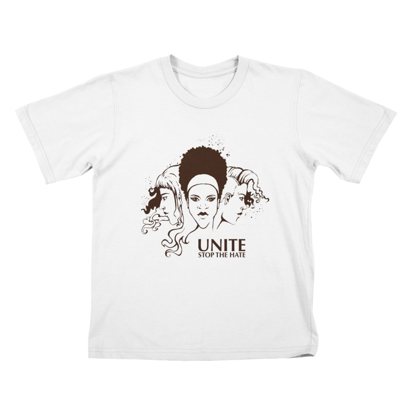 Unite Kids T-Shirt by harbingerdesigns's Artist Shop