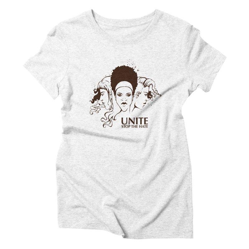 Unite Women's Triblend T-shirt by harbingerdesigns's Artist Shop