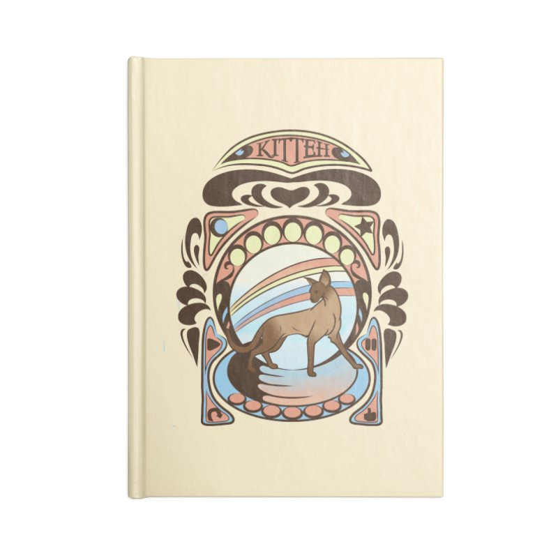 Kitteh Accessories Notebook by harbingerdesigns's Artist Shop