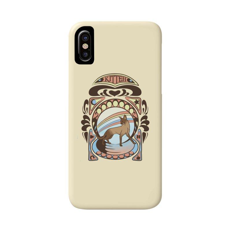 Kitteh Accessories Phone Case by harbingerdesigns's Artist Shop