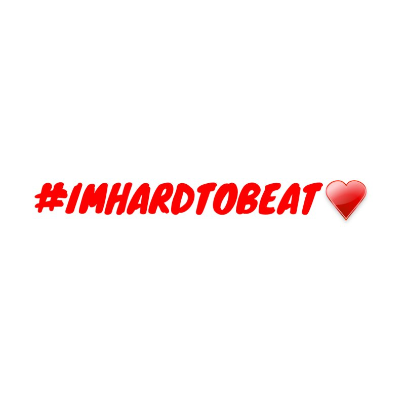 #IMHARDTOBEAT - HEART HEALTH AWARENESS Men's T-Shirt by Hard To Beat