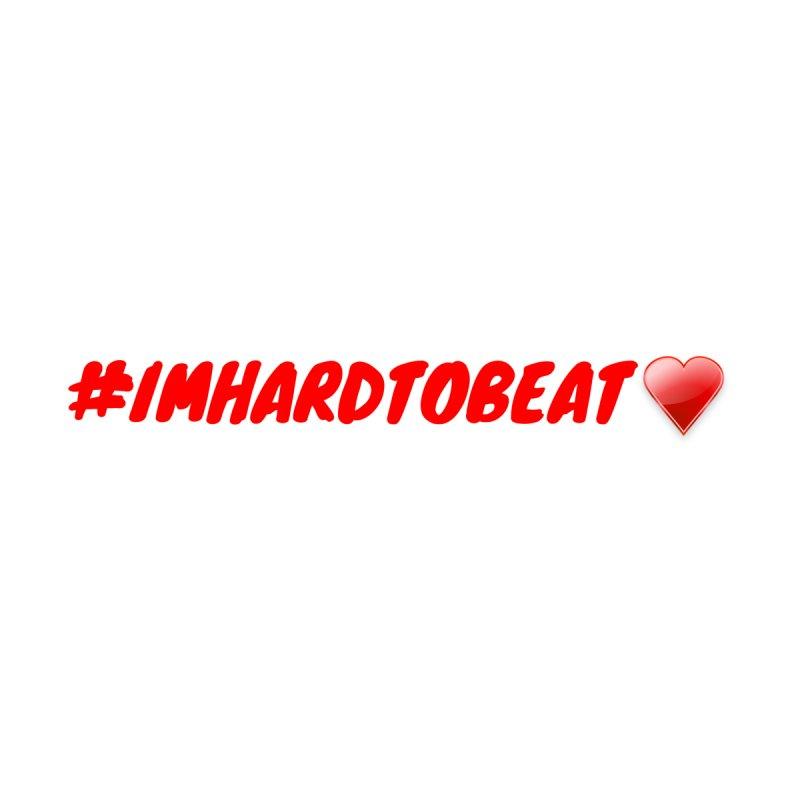 #IMHARDTOBEAT - HEART HEALTH AWARENESS Women's Zip-Up Hoody by Hard To Beat