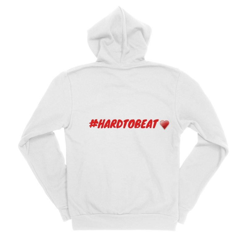 #HARDTOBEAT - HEART HEALTH MONTH Women's Zip-Up Hoody by Hard To Beat