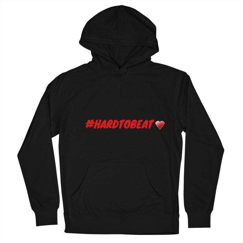 #HARDTOBEAT - HEART HEALTH MONTH Men's French Terry Pullover Hoody by Hard To Beat