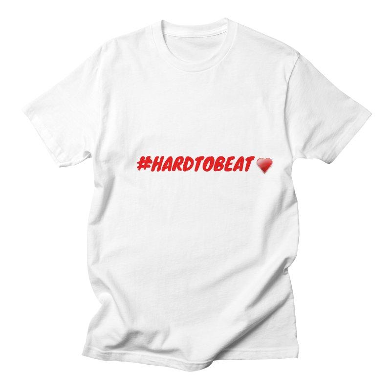 #HARDTOBEAT - HEART HEALTH MONTH Men's T-Shirt by Hard To Beat