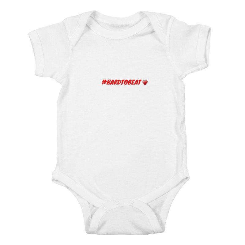 #HARDTOBEAT - HEART HEALTH MONTH Kids Baby Bodysuit by Hard To Beat