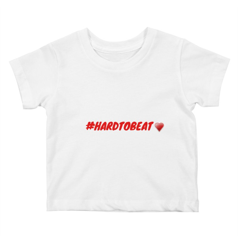 #HARDTOBEAT - HEART HEALTH MONTH Kids Baby T-Shirt by Hard To Beat