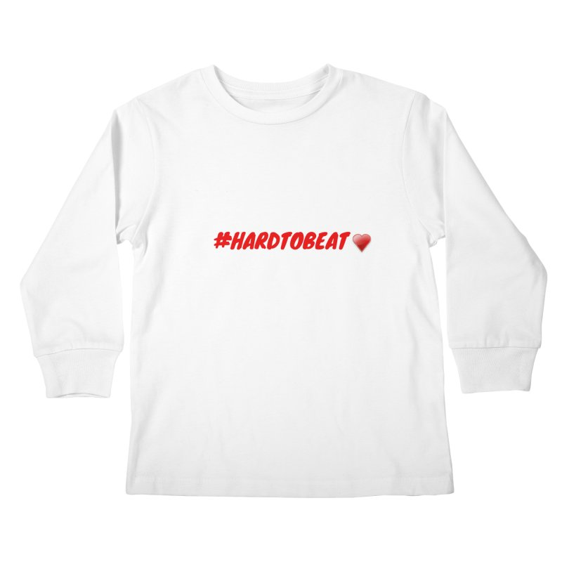 #HARDTOBEAT - HEART HEALTH MONTH Kids Longsleeve T-Shirt by Hard To Beat