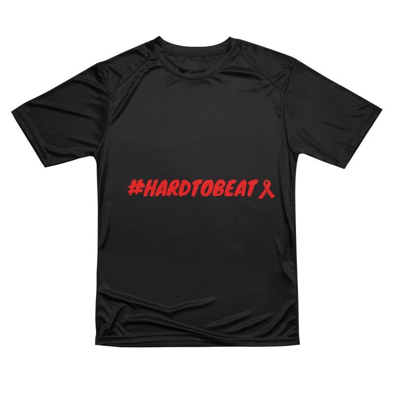 #HARDTOBEAT - HIV/AIDS AWARENESS Men's T-Shirt by Hard To Beat