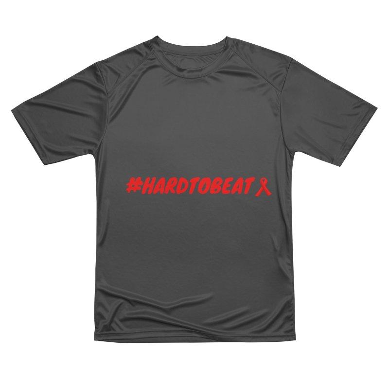#HARDTOBEAT - HIV/AIDS AWARENESS Men's Performance T-Shirt by Hard To Beat