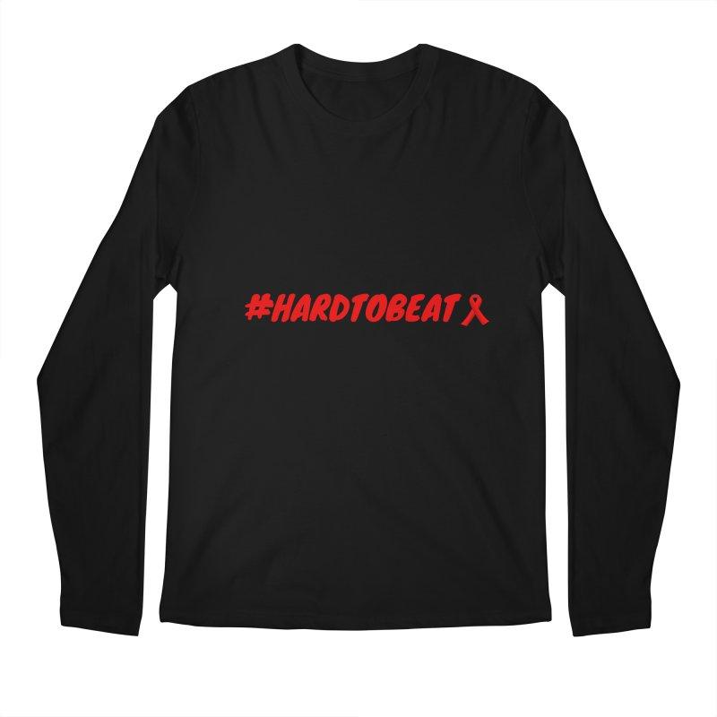 #HARDTOBEAT - HIV/AIDS AWARENESS in Men's Regular Longsleeve T-Shirt Black by Hard To Beat