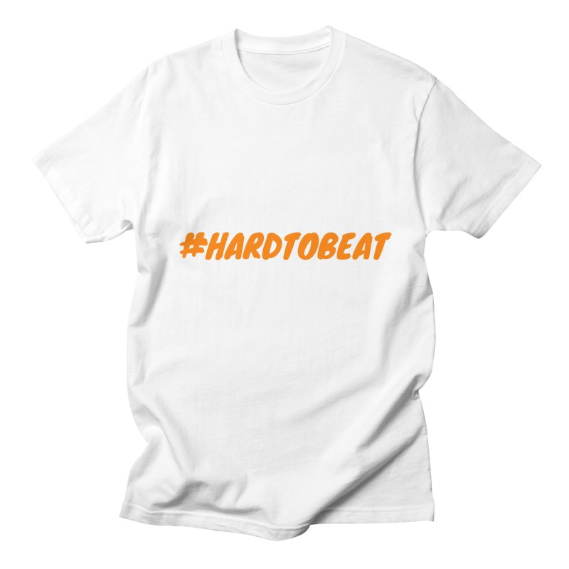 #HARDTOBEAT - ORANGE Men's T-Shirt by Hard To Beat