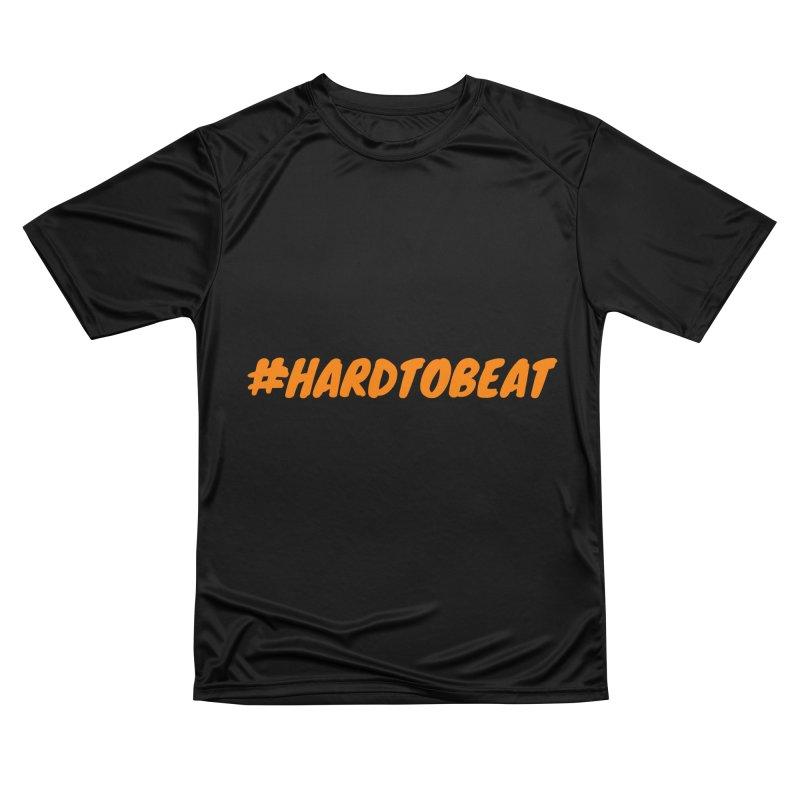 #HARDTOBEAT - ORANGE Men's Performance T-Shirt by Hard To Beat