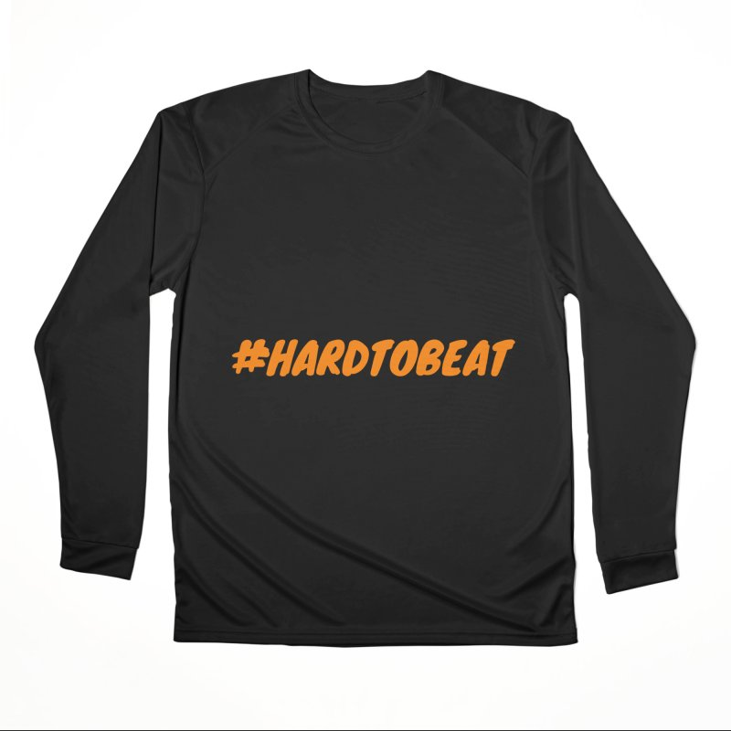 #HARDTOBEAT - ORANGE Men's Longsleeve T-Shirt by Hard To Beat