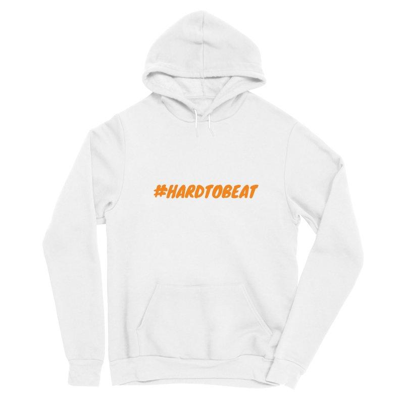 #HARDTOBEAT - ORANGE Men's Pullover Hoody by Hard To Beat