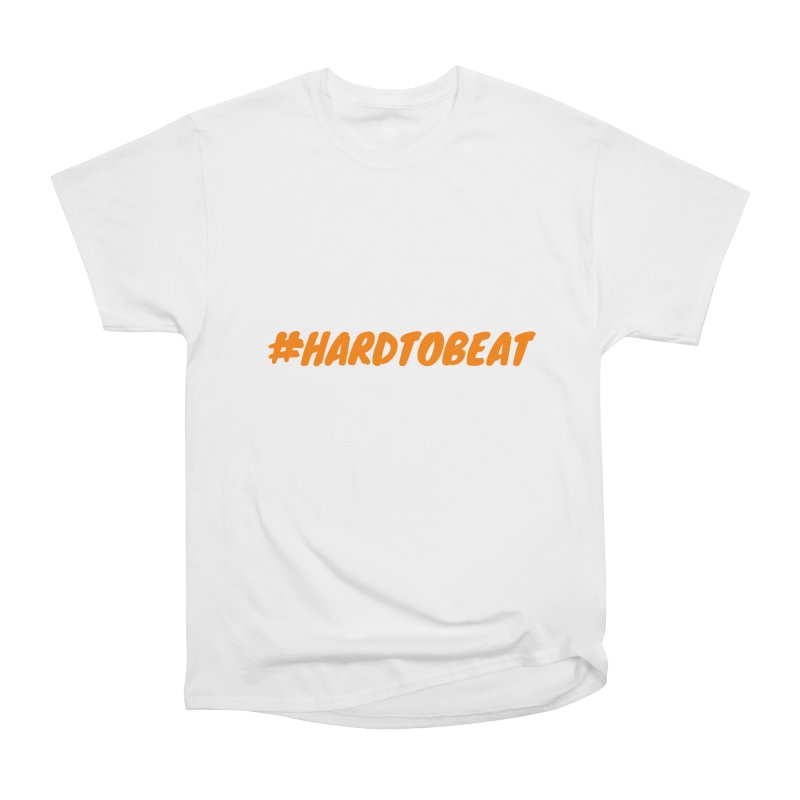 #HARDTOBEAT - ORANGE Men's T-Shirt by Hard To Beat