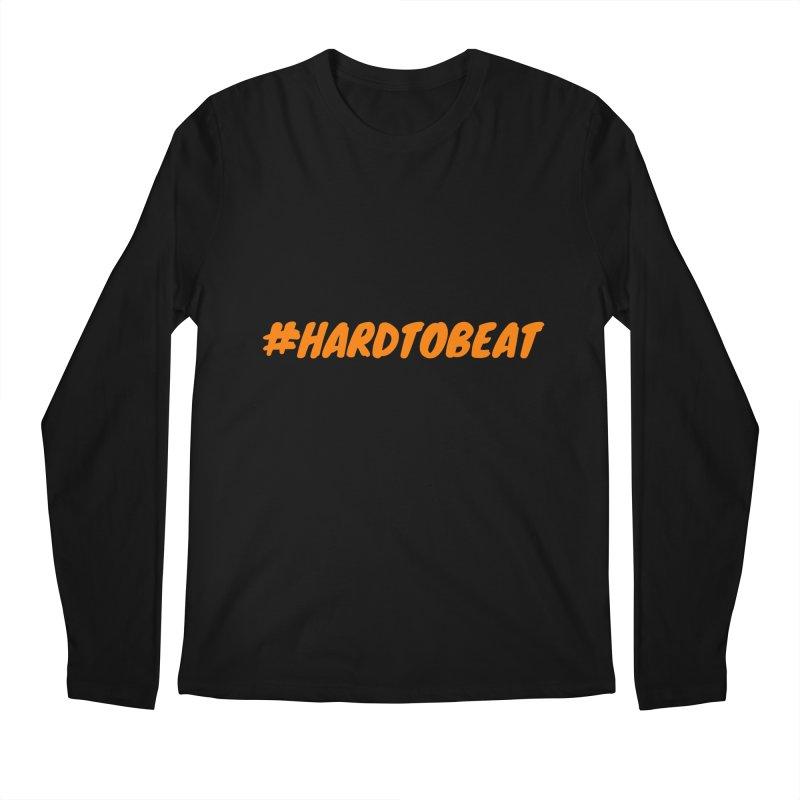 #HARDTOBEAT - ORANGE Men's Longsleeve T-Shirt by Hard To Beat