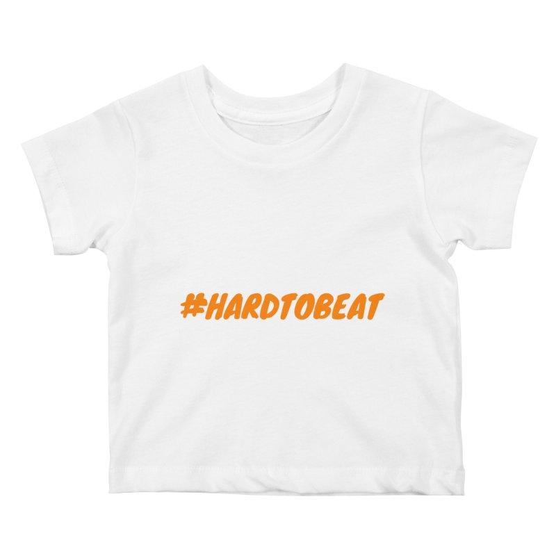 #HARDTOBEAT - ORANGE Kids Baby T-Shirt by Hard To Beat