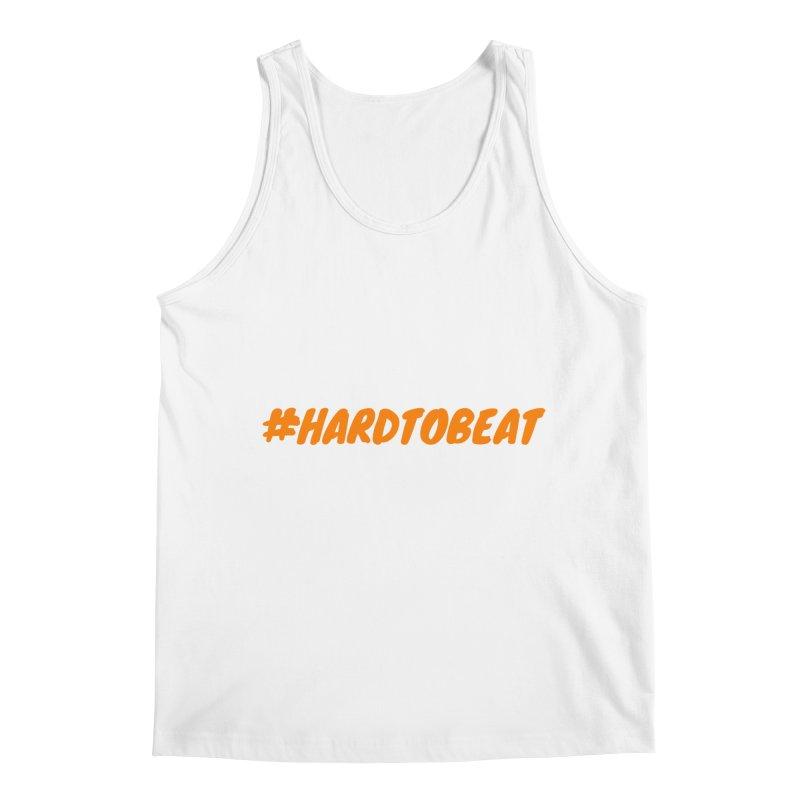 #HARDTOBEAT - ORANGE Men's Tank by Hard To Beat