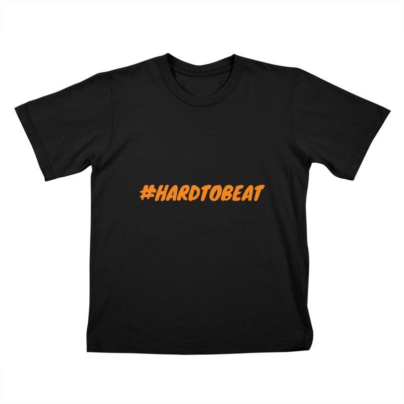 #HARDTOBEAT - ORANGE Kids T-Shirt by Hard To Beat