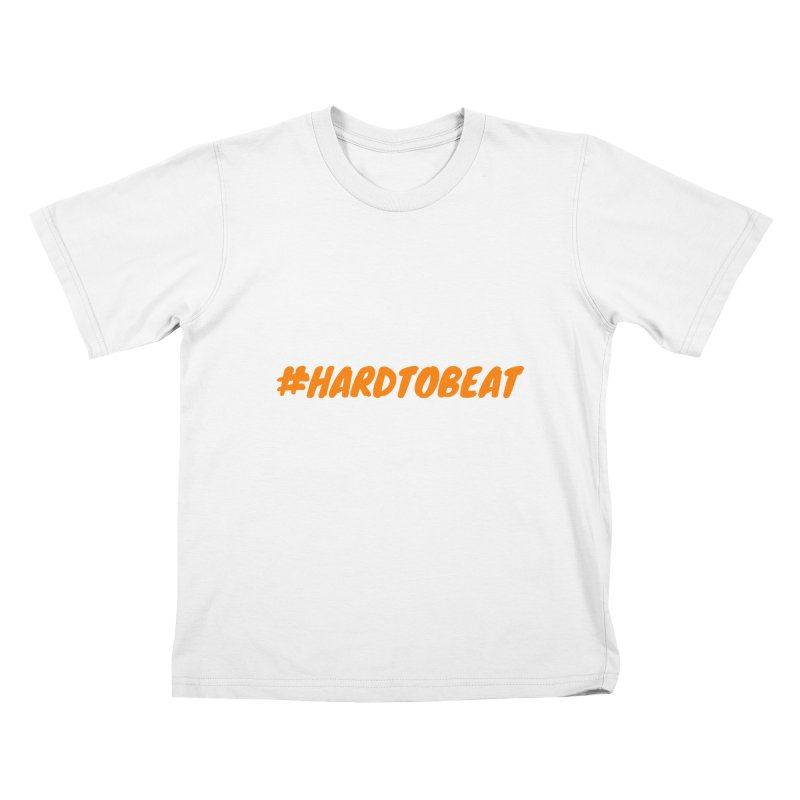 #HARDTOBEAT - ORANGE Kids T-Shirt by Hard To Beat