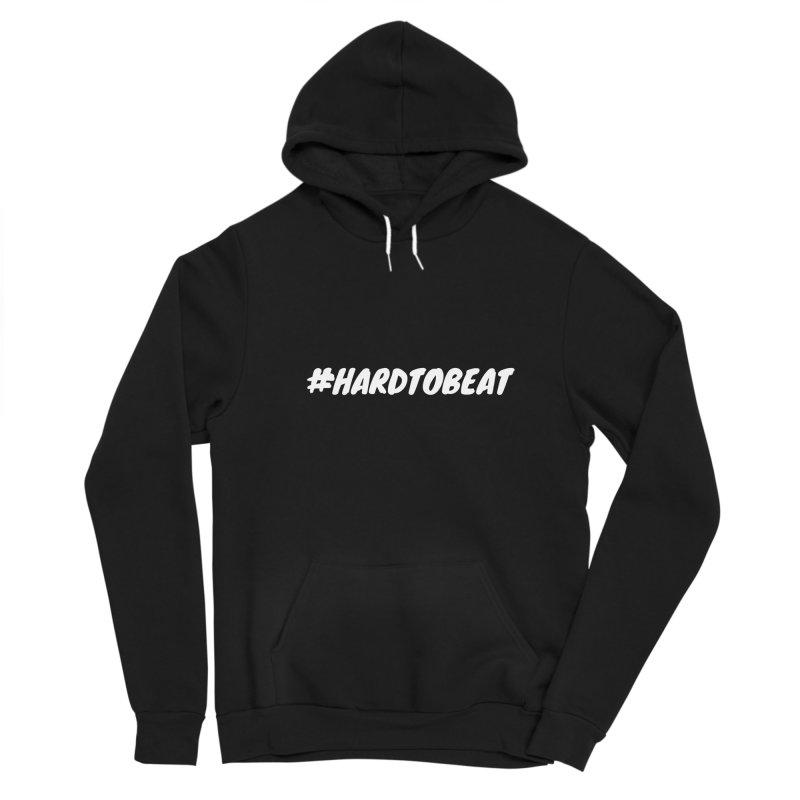 #HARDTOBEAT - WHITE Women's Pullover Hoody by Hard To Beat