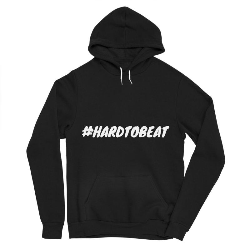 #HARDTOBEAT - WHITE Women's Sponge Fleece Pullover Hoody by Hard To Beat