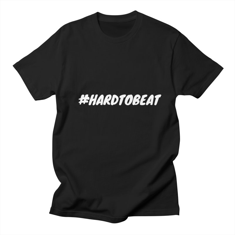 #HARDTOBEAT - WHITE Men's Regular T-Shirt by Hard To Beat