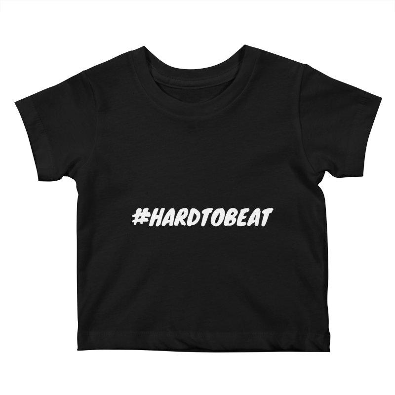#HARDTOBEAT - WHITE Kids Baby T-Shirt by Hard To Beat