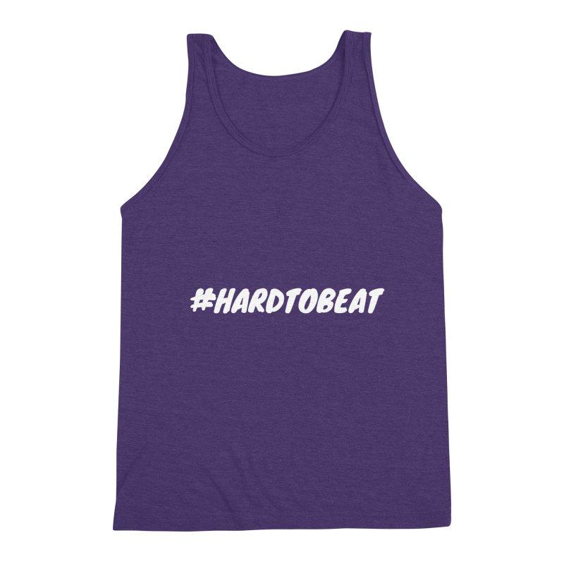 #HARDTOBEAT - WHITE Men's Tank by Hard To Beat