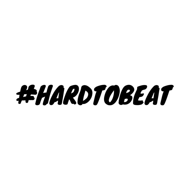 #HARDTOBEAT - BLACK Men's T-Shirt by Hard To Beat
