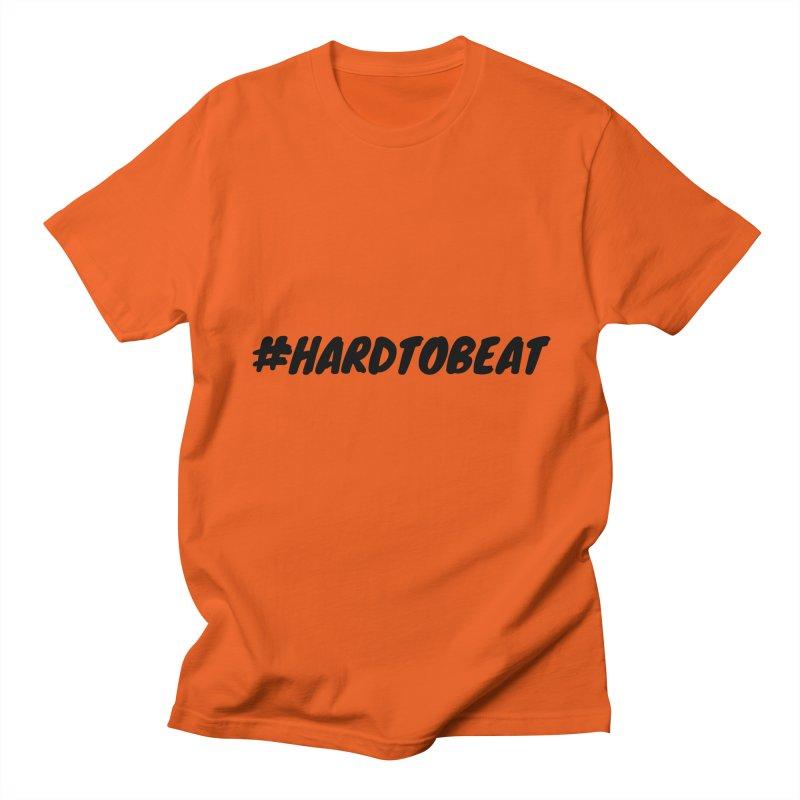 #HARDTOBEAT - BLACK Men's T-Shirt by Hard To Beat