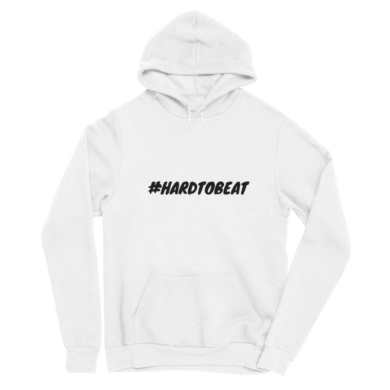 #HARDTOBEAT - BLACK Men's Pullover Hoody by Hard To Beat