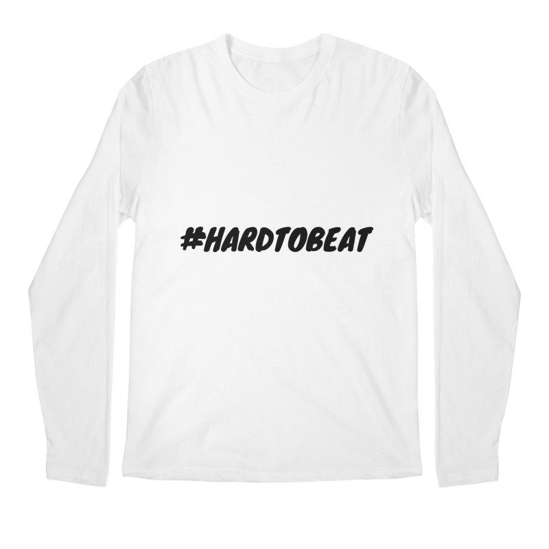 #HARDTOBEAT - BLACK Men's Longsleeve T-Shirt by Hard To Beat