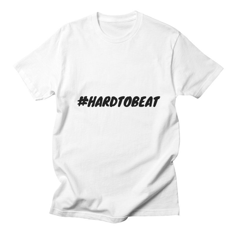 #HARDTOBEAT - BLACK Men's Regular T-Shirt by Hard To Beat
