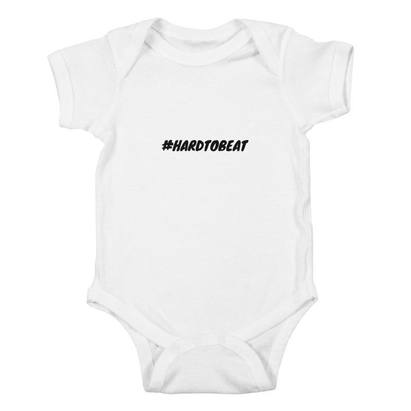 #HARDTOBEAT - BLACK Kids Baby Bodysuit by Hard To Beat