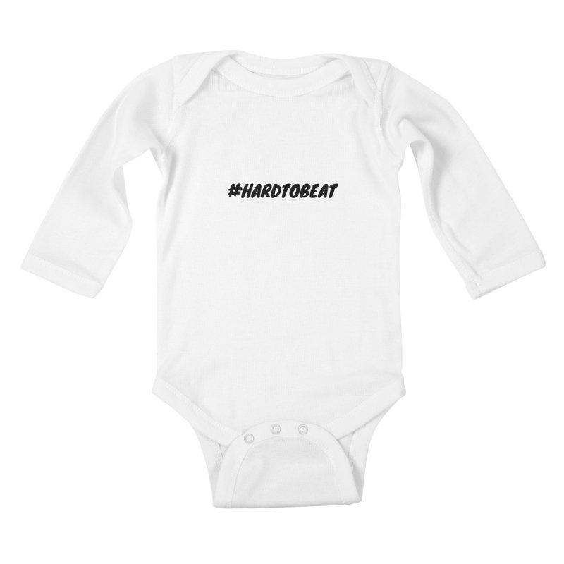 #HARDTOBEAT - BLACK Kids Baby Longsleeve Bodysuit by Hard To Beat