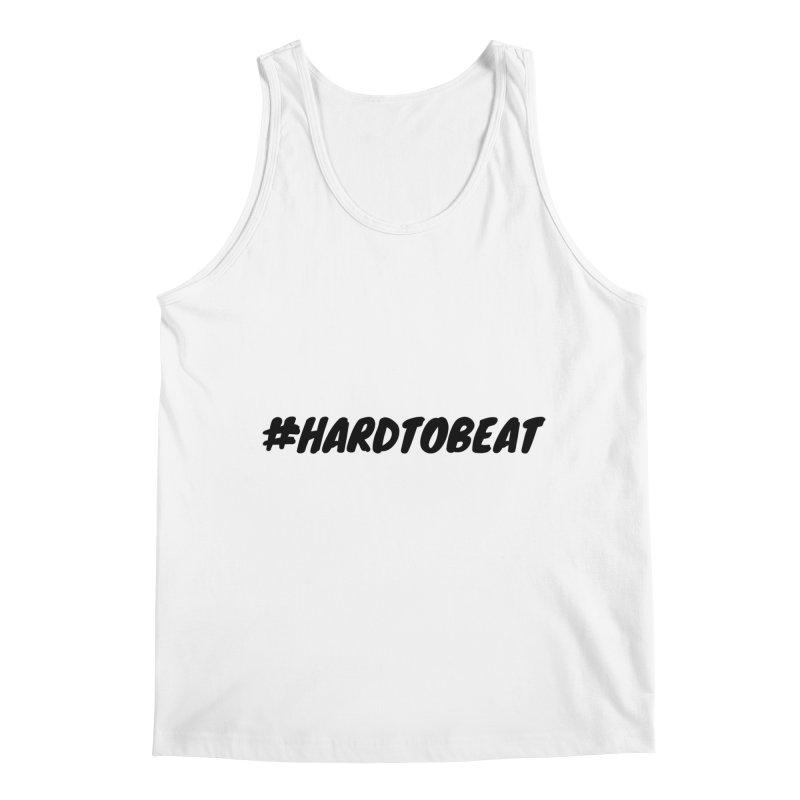 #HARDTOBEAT - BLACK Men's Regular Tank by Hard To Beat