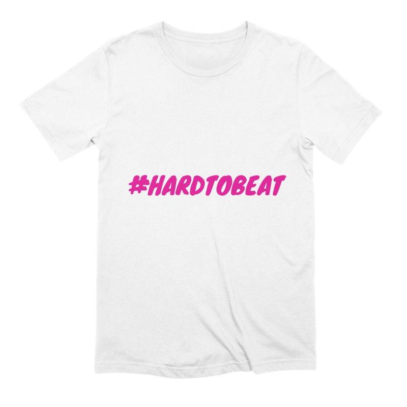 #HARDTOBEAT - PINK Men's T-Shirt by Hard To Beat