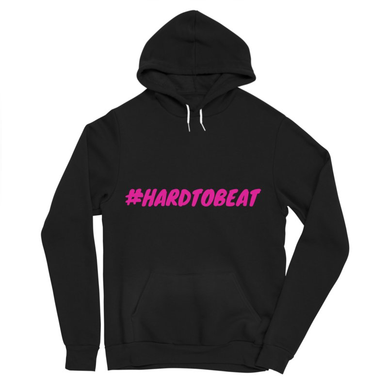 #HARDTOBEAT - PINK Men's Sponge Fleece Pullover Hoody by Hard To Beat