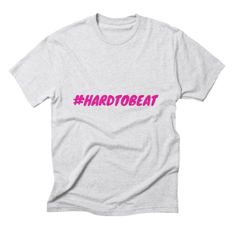 #HARDTOBEAT - PINK Men's T-Shirt by Hard To Beat