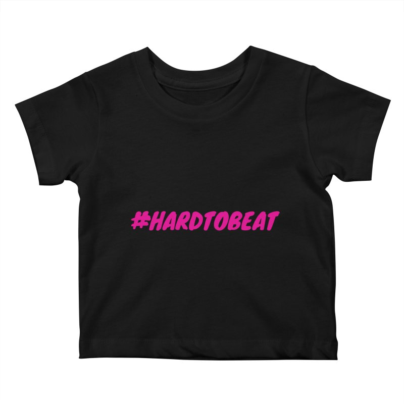 #HARDTOBEAT - PINK Kids Baby T-Shirt by Hard To Beat