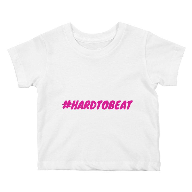 #HARDTOBEAT - PINK Kids Baby T-Shirt by Hard To Beat