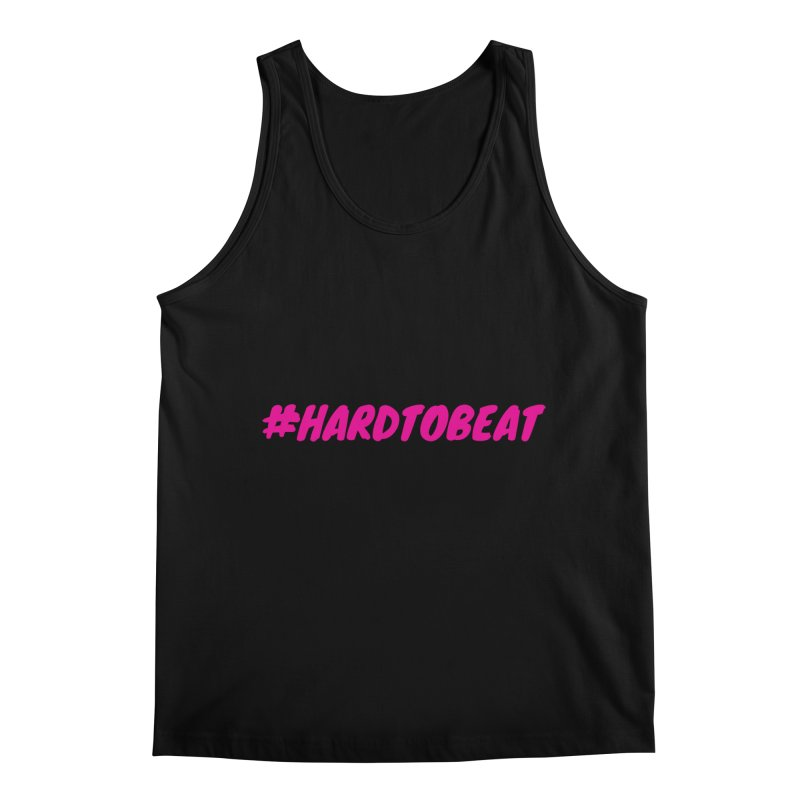 #HARDTOBEAT - PINK Men's Regular Tank by Hard To Beat