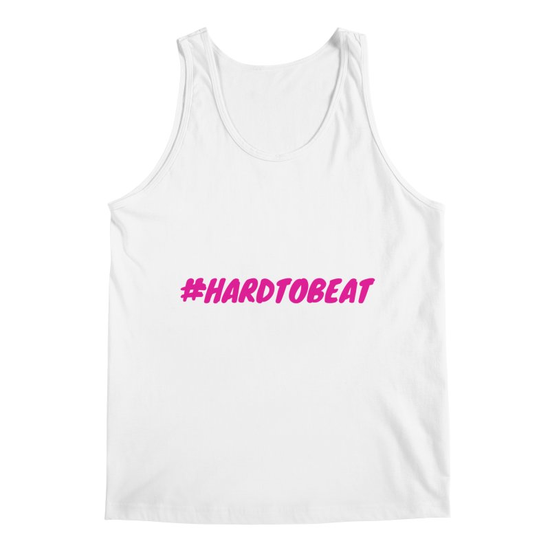 #HARDTOBEAT - PINK Men's Tank by Hard To Beat