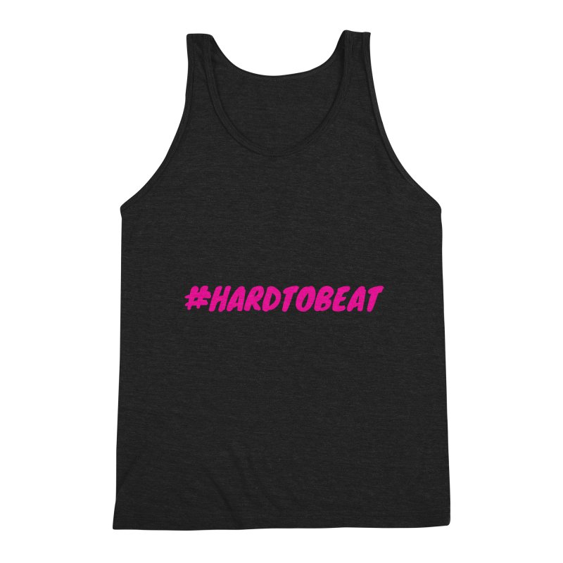 #HARDTOBEAT - PINK Men's Tank by Hard To Beat