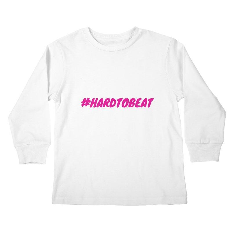 #HARDTOBEAT - PINK Kids Longsleeve T-Shirt by Hard To Beat