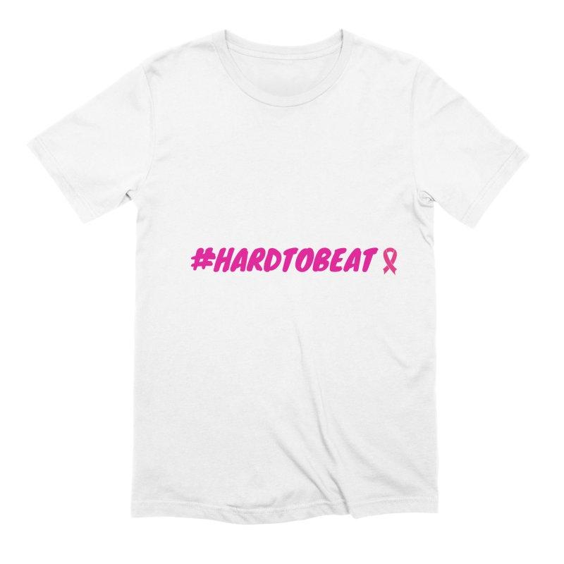 #HARDTOBEAT - BREAST CANCER AWARENESS Men's T-Shirt by Hard To Beat