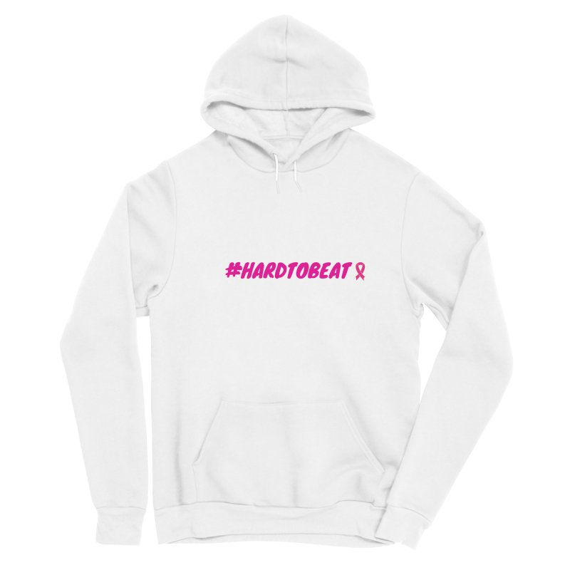 #HARDTOBEAT - BREAST CANCER AWARENESS Men's Pullover Hoody by Hard To Beat